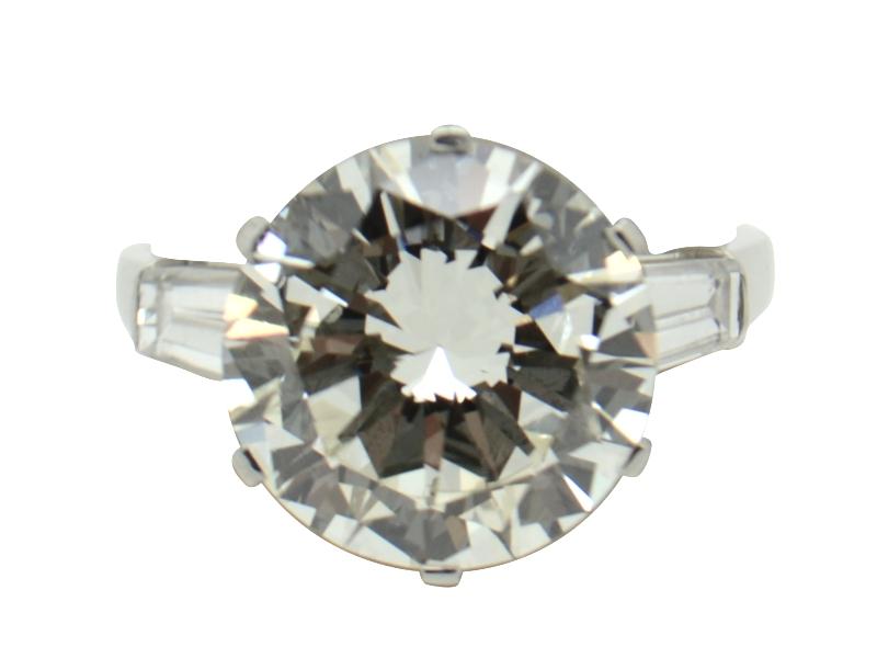 Bulgari diamond ring ct 6.50