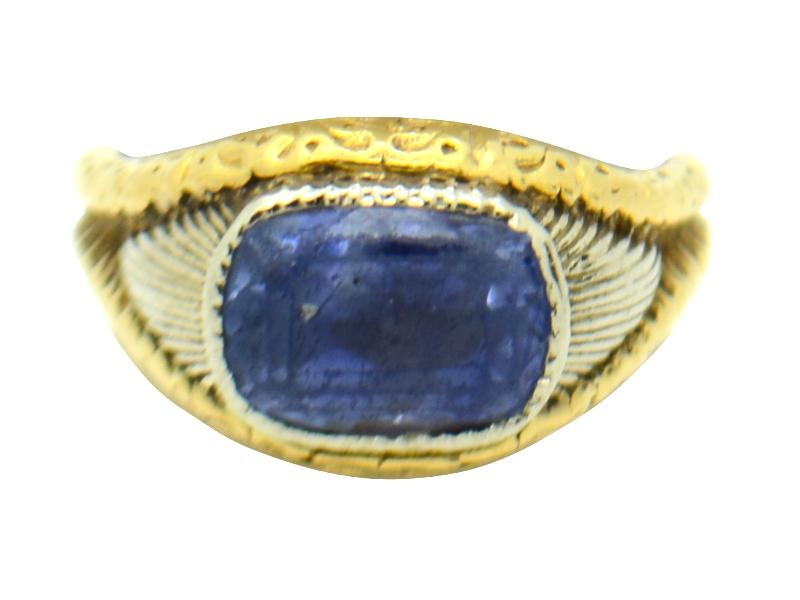 Buccellati sapphire ring