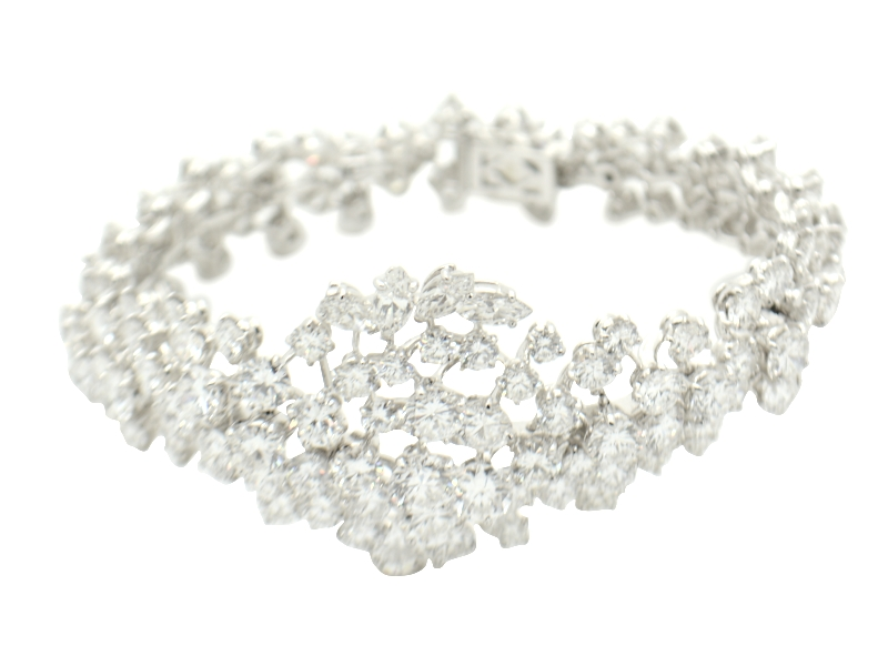 Massoni diamond bracelet