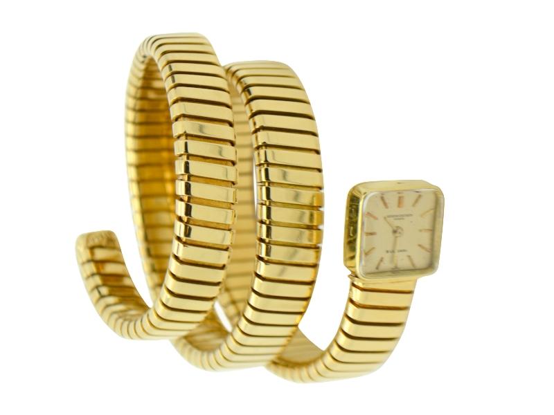 Bulgari Vacheron Constantin gold watch