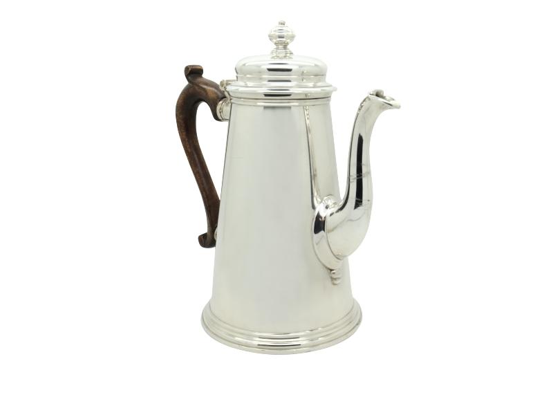 Bulgari silver coffeepot