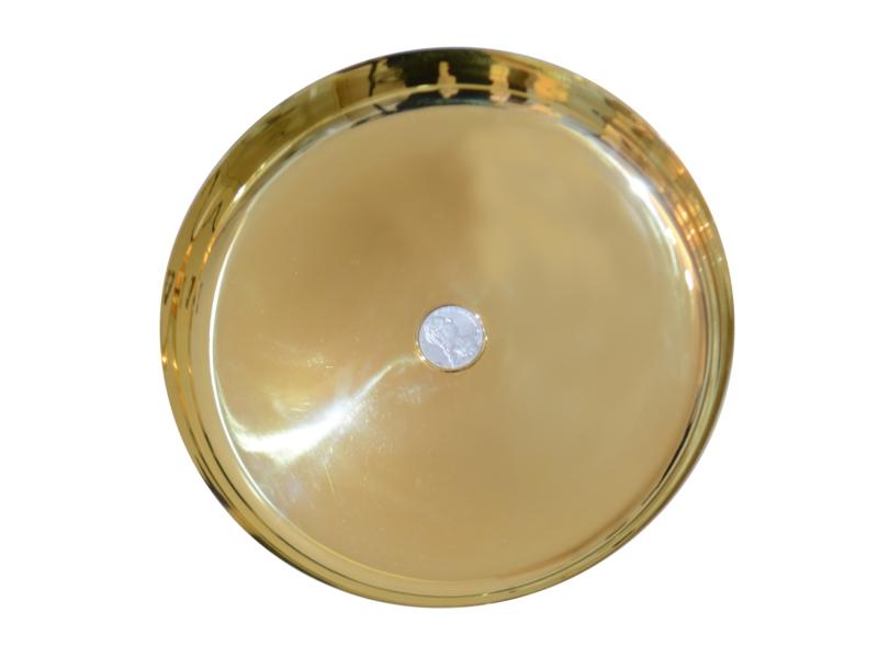 Bulgari gilded silver bowl