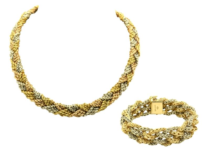 1970s Bulgari gold parure