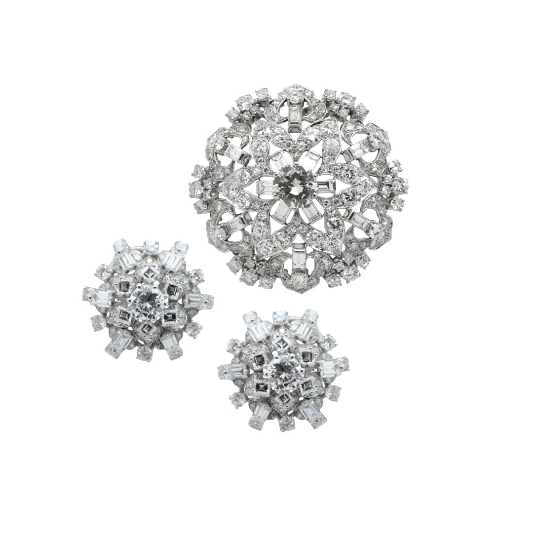 1970 diamond parure