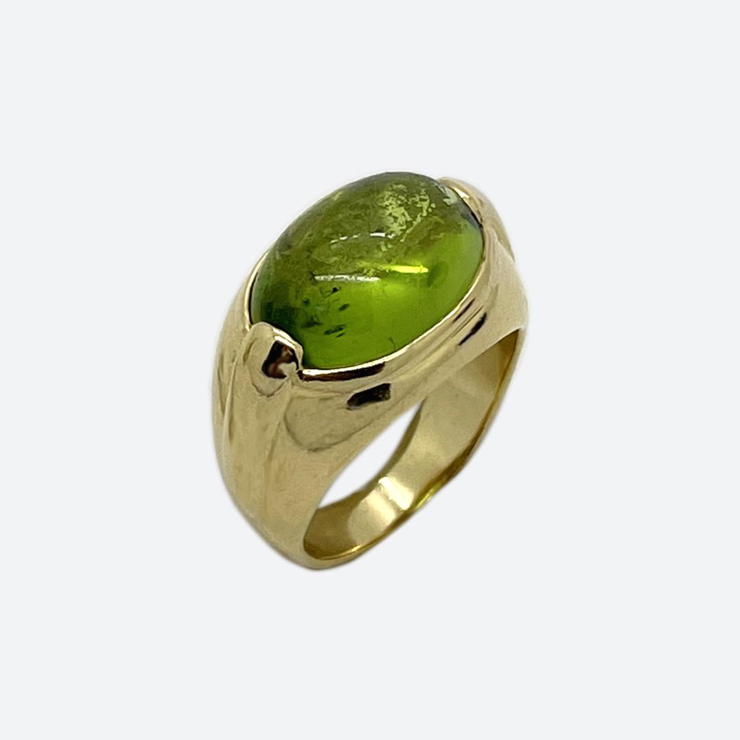 Bulgari colored stone ring