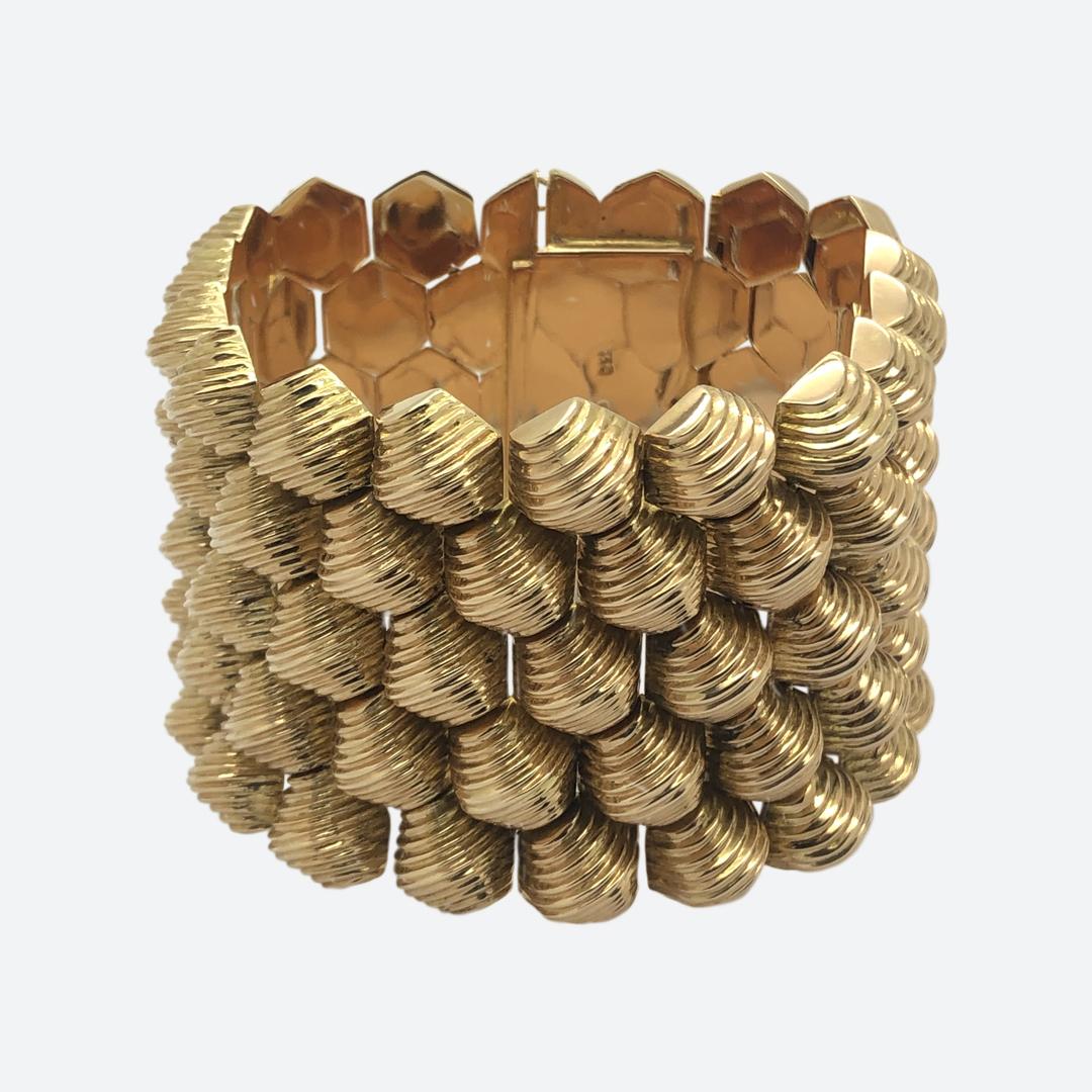 1960s wide bracelet