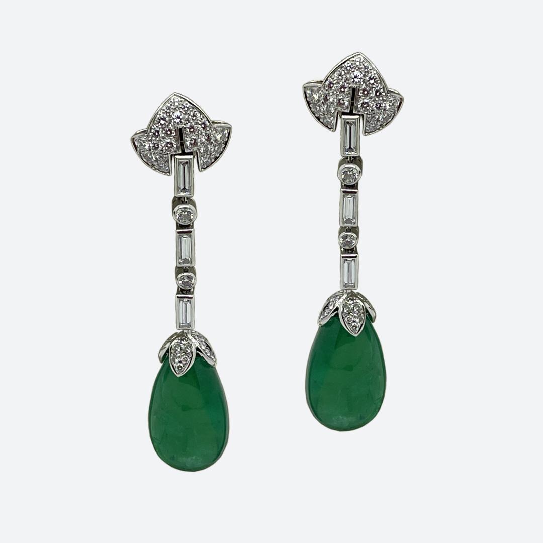 Bulgari 1940s earrings
