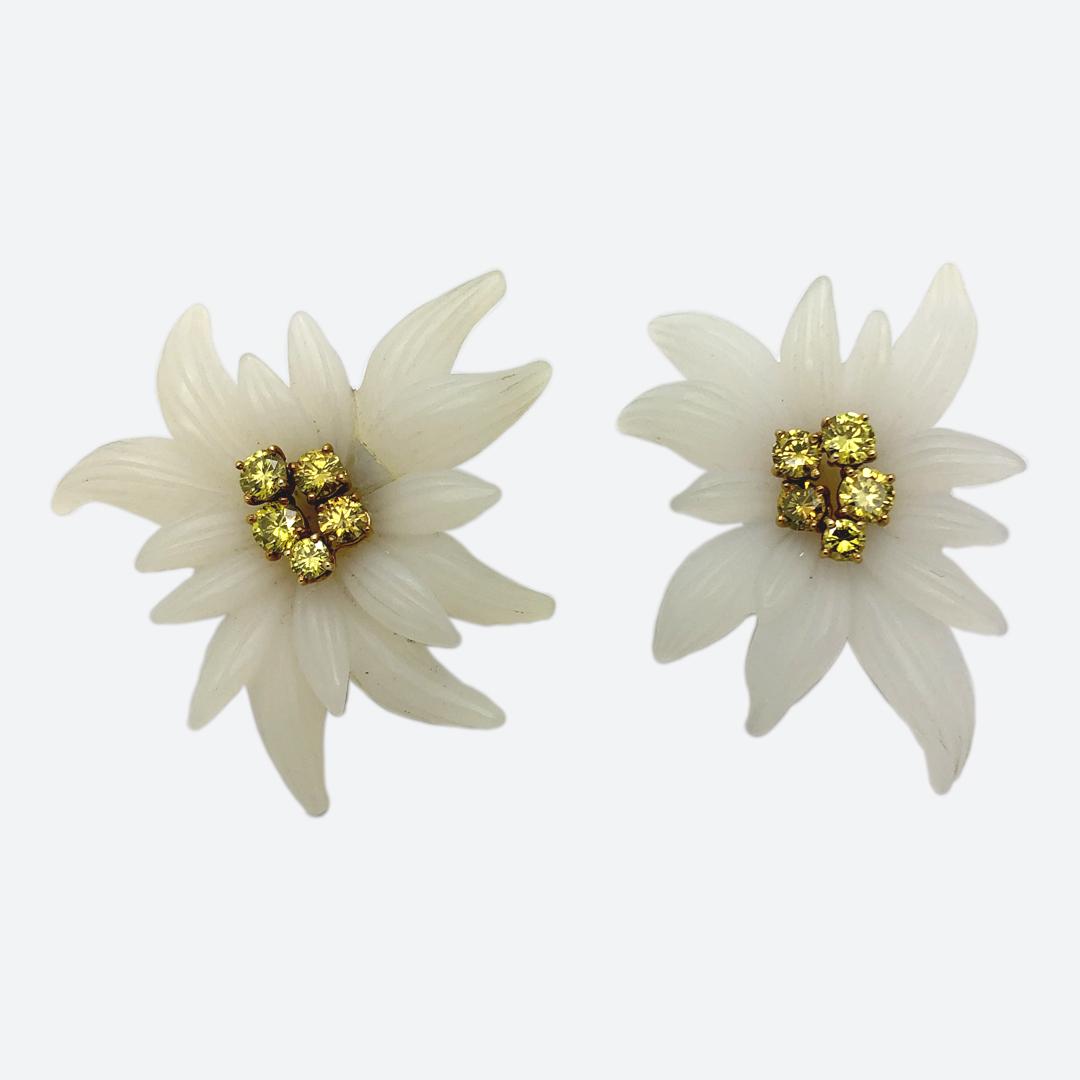 Edelweiss earrings