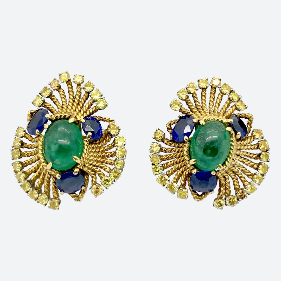 1950s earrings