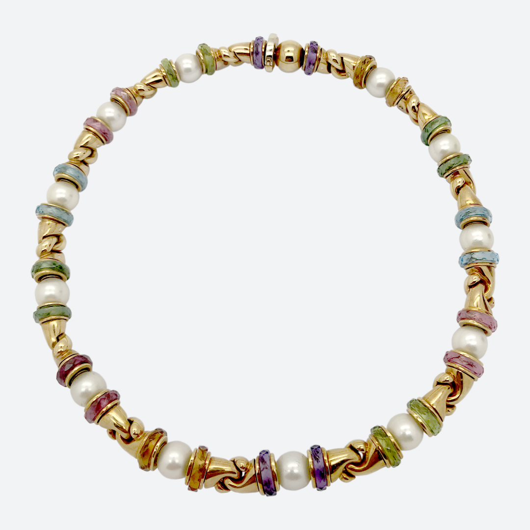 Bulgari Gancio necklace