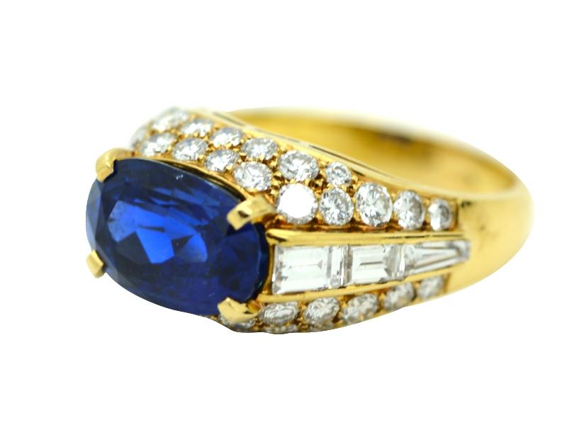 1970s Bulgari sapphire ring