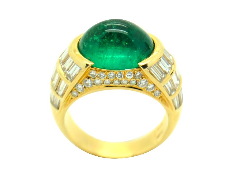 Bulgari emerald ring