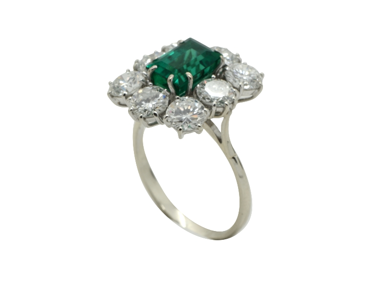 1960s emerald ring