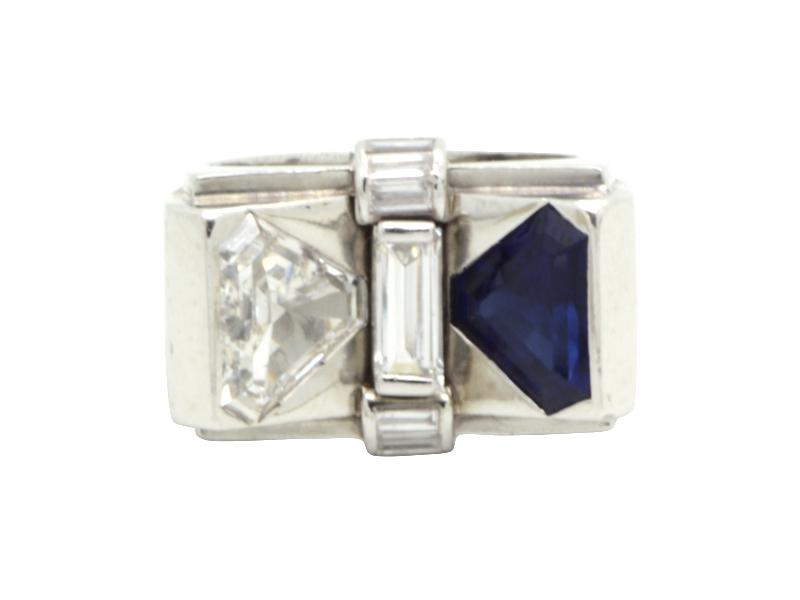 1950s triangular ring