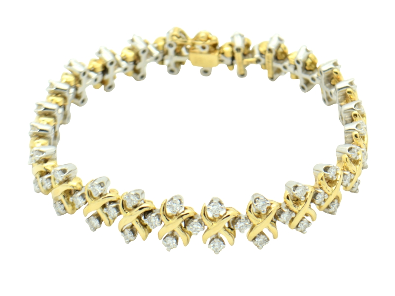 Tiffany diamond bracelet