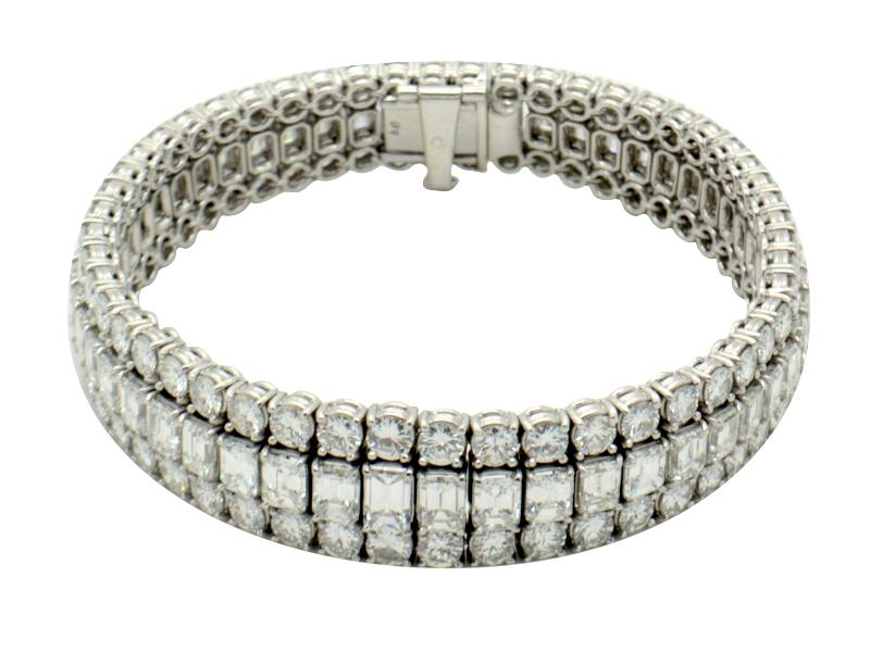 1970s diamond bracelet