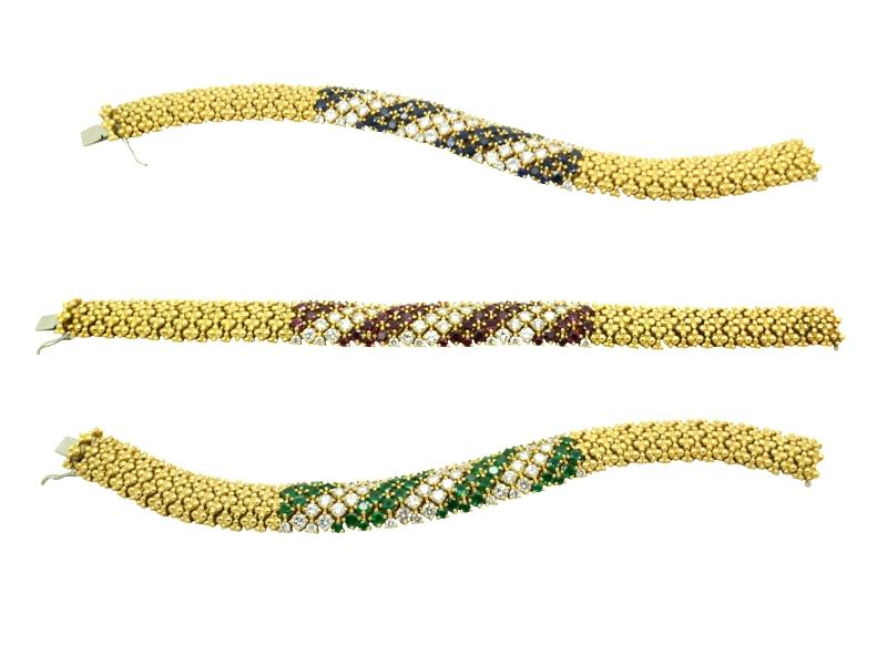 1970s bracelet set