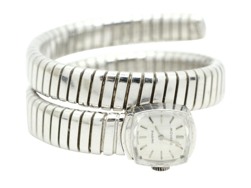Bulgari white gold watch