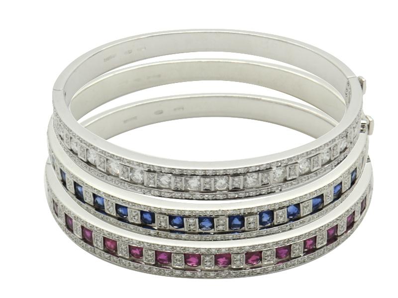 Damiani three bracelets set