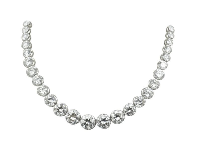 1960s Massoni diamond necklace