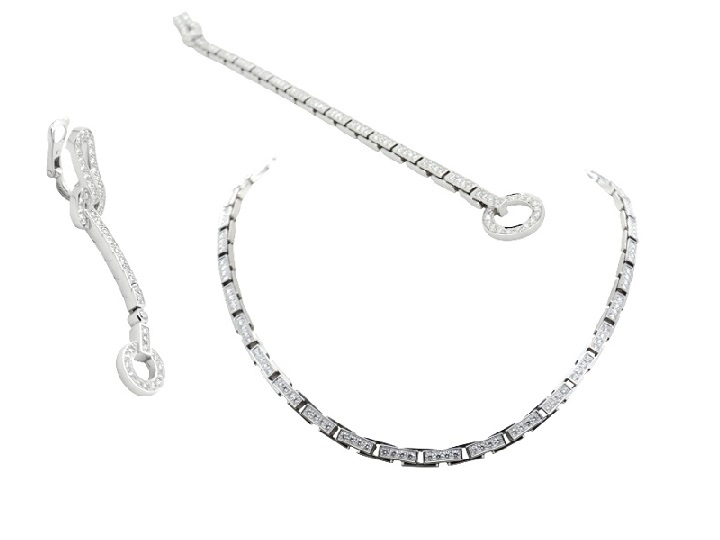 Agrafe Cartier set