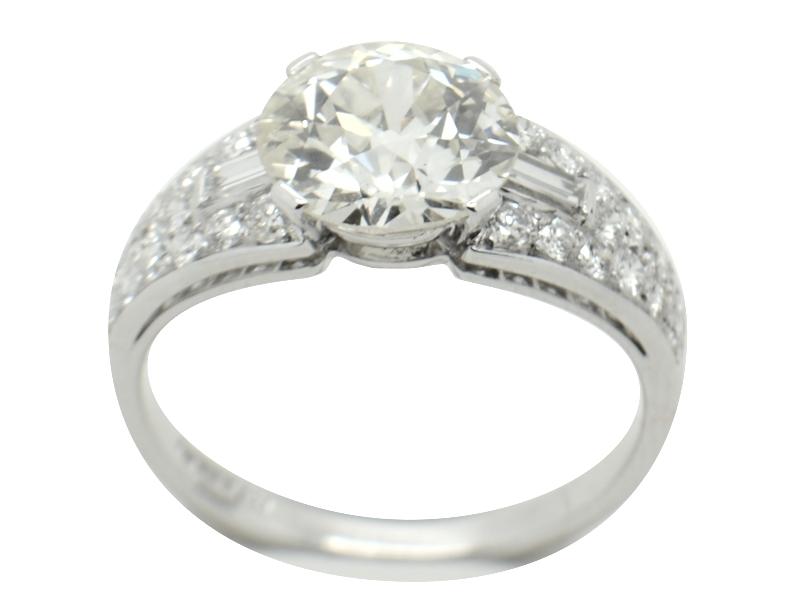 1960s Bulgari diamond ring