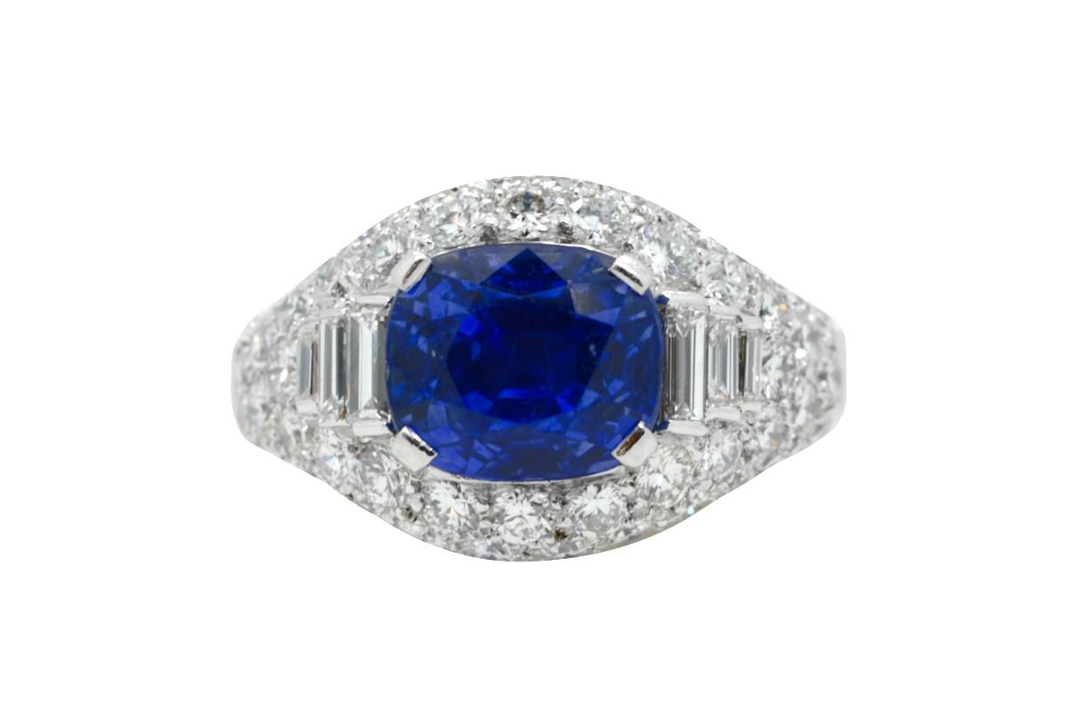 1960s Bulgari sapphire ring
