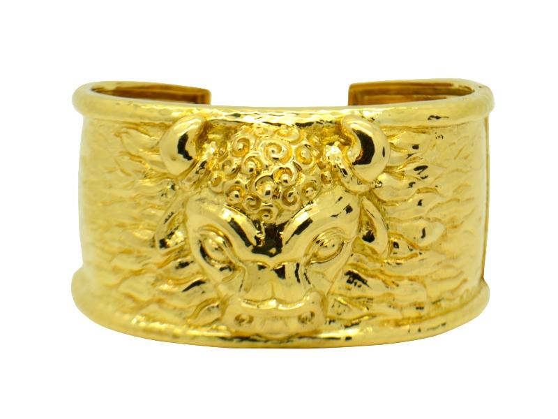 David Webb yellow gold bracelet