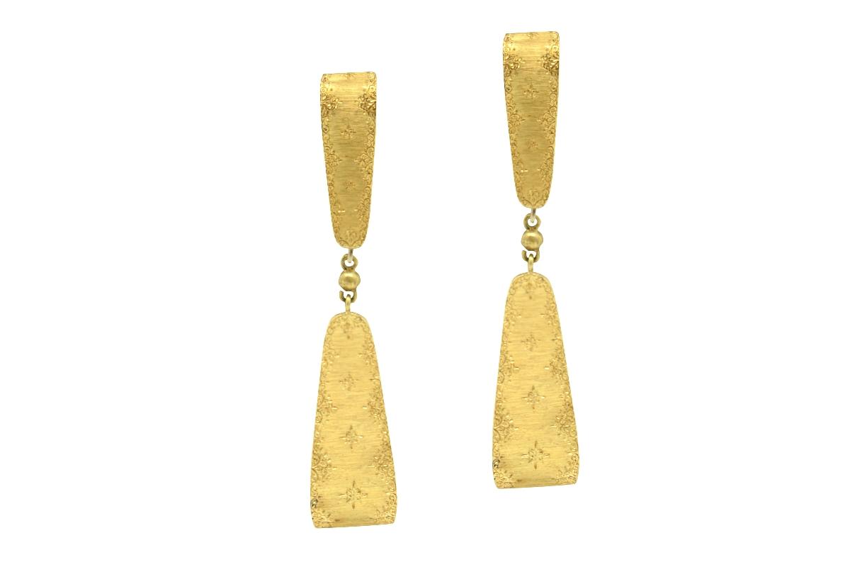 Buccellati gold earrings