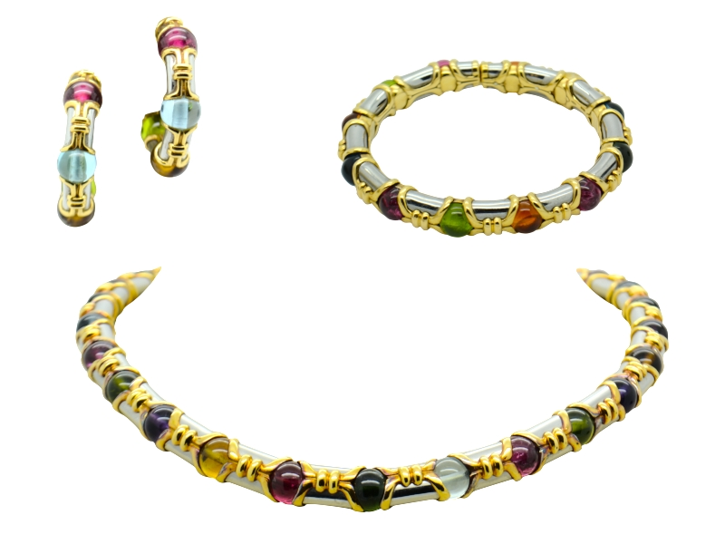Bulgari gem of color set