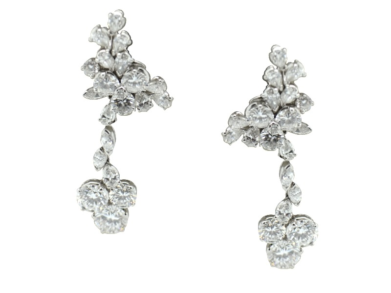 Massoni diamond earrings